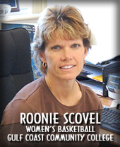 Roonie Scovel, Gulf Coast State College Womens Basketball Coach