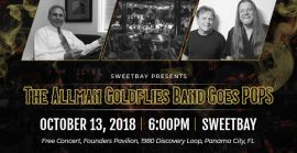 Sweebay presents: The Allman Goldflies Band Goes POPs - October 13, 2018.
